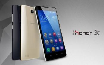 Huawei Honor 3C скоро в продаже