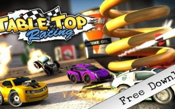 Обзор игры Table Top Racing