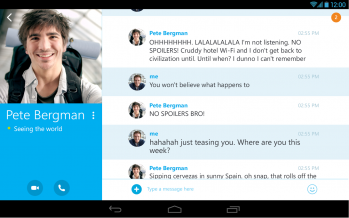 Как установить Скайп на Андроид