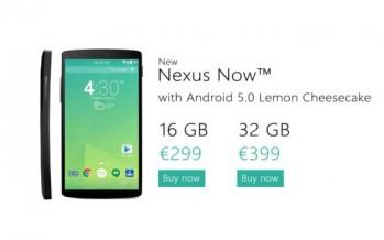 Nexus 5 показан с Android 5.0 на борту