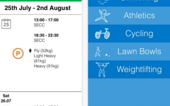 Обзор приложения Glasgow Commonwealth Games 2014 для iOS и Android