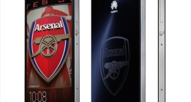 Huawei Ascend P7 для фанатов Арсенала