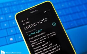 Обновление Lumia Cyan для моделей Nokia Lumia