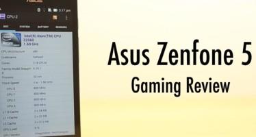Обзор Asus ZenFone 5: хороший игровой смартфон