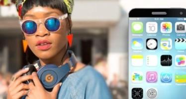 Дизайн iPhone 6 с логотипом Beats