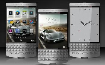 Смартфон премиум-класса BlackBerry Porsche Design P'9983