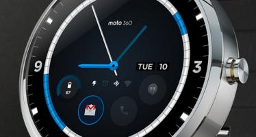 Умные часы Motorola Moto 360 за 9 тыс. рублей