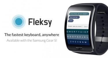 Fleksy Messenger самая быстрая клавиатура для Sамsung Gear