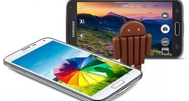 Verizon запускает Android 4.4.4 KitKat для Samsung Galaxy S5