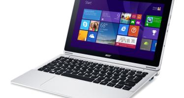 Гибридный планшет Acer Aspire Switch 12.