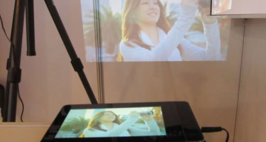 Aiptek ProjectorPad P70 — гибрид планшета и проектора