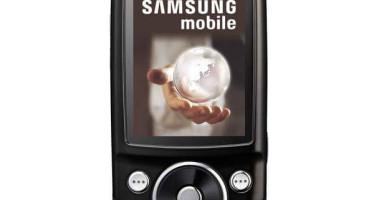 Серийный телефон Samsung G