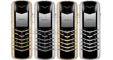 Vertu Diamond collection — смартфоны с бриллиантовой инкрустацией