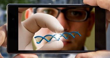 Анализ ДНК посредством смартфона.