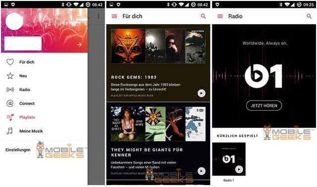 Apple Music для Android выйдет в начале ноября