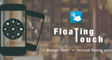 Android мультифункциональная кнопка FloatingToucher на вашем смартфоне.