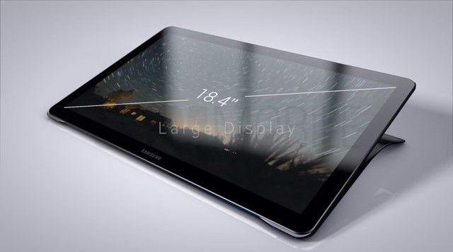 Первые изображения 18.4-дюймового планшета Samsung Galaxy View