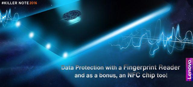 Lenovo К4 Note будет иметь сканер отпечатков пальцев и NFC