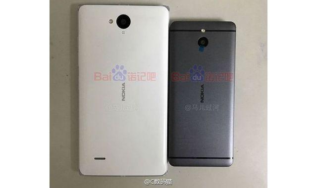Первые изображения смартфона Nokia с металлическим корпусом