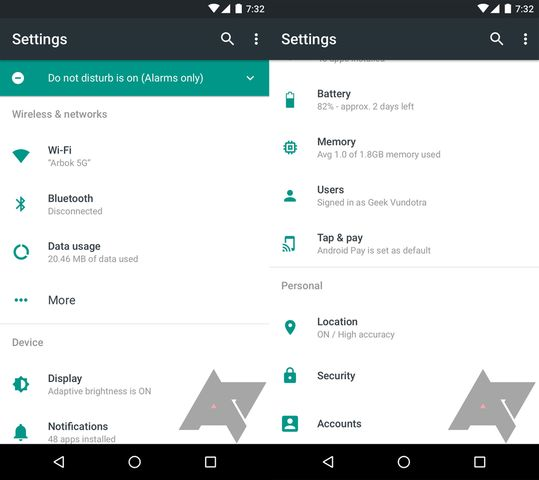 Android N: все, что вам нужно знать про Android 7.0