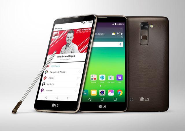 LG Stylus 2 - первый смартфон с поддержкой DAB+ Радио