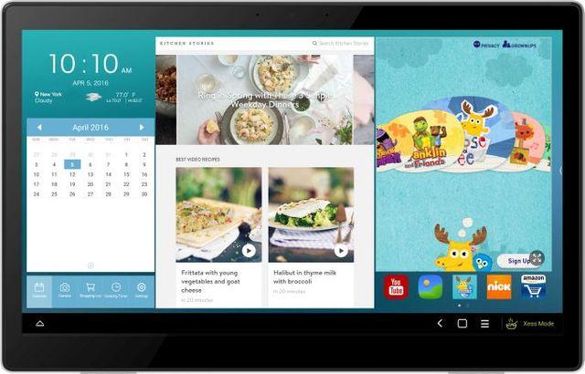 Alcatel Xess - 17-дюймовый Android планшет поступит в продажу 22 апреля по цене 499$