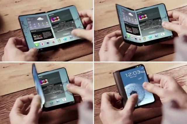 Samsung выпустит складной смартфон в 2017 году
