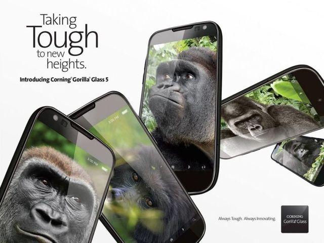 Corning Gorilla Glass 5: еще более прочная защита экранов смартфонов