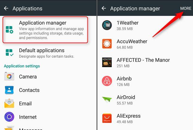 Как отключить наложения в Android