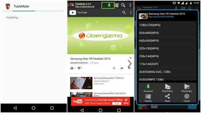 как скачать видео с Youtube на телефон андроид бесплатно приложение - фото 2