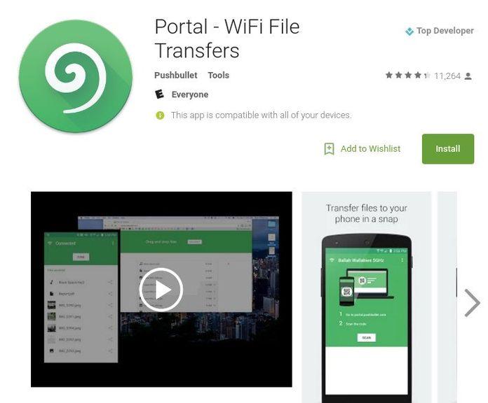 4 популярных Android приложения для передачи файлов по Wi-Fi