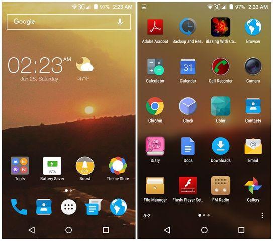 Какой лаунчер для Android самый лучший 2017