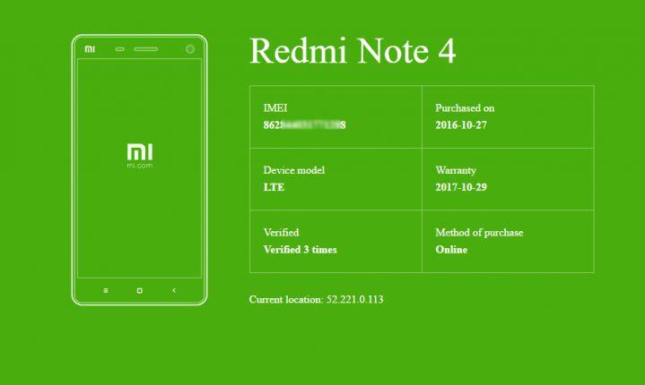 Как отличить подделку Xiaomi Redmi Note 4