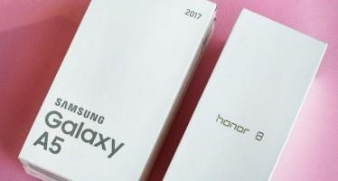 Samsung Galaxy A5 2017 или Honor 8: сравнение-обзор