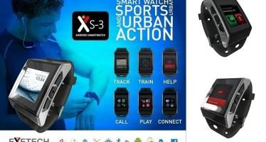 Часы-смартфон Exetech