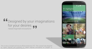 Дизайн для HTC One X2