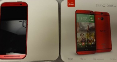 Красная версия HTC One M8 от Verizon