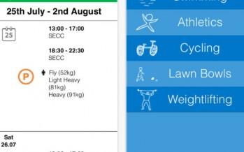Обзор приложения Glasgow Commonwealth Games 2014 для iOS и Android