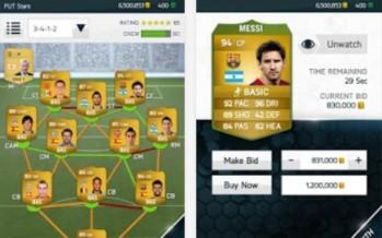 Обзор обновления EA Sports Football Club для Android