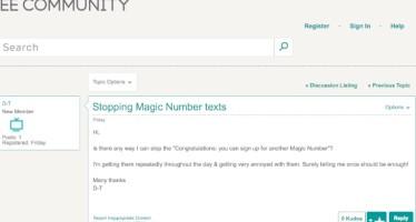 Комания EE и Orange Mobile Magic Number замешаны в СМС спам атаках пользователей