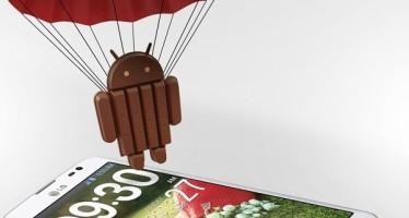 Обновление Android 4.4 KitKat для LG Optimus G