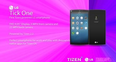 LG Tick One Tizen на оперционной системе Tizen