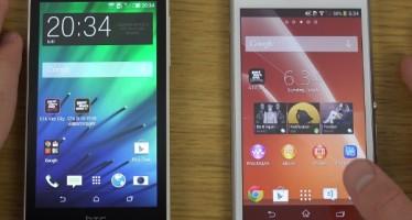 Обзор Sony Xperia M2 и HTC Desire 610