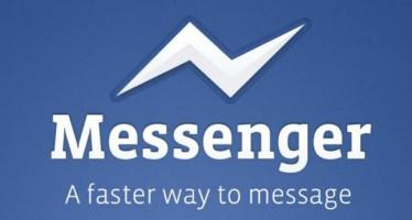 Facebook Messenger теперь доступен для iPad