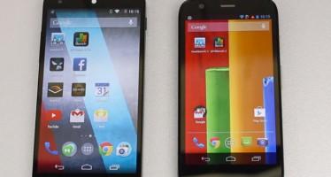 Обзор Zenfone 5, Moto G и Nexus 5