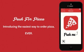 Push for Pizza: быстрый заказ пиццы на дом