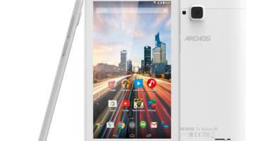 Компания Archos представила три новых планшета