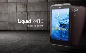 Бюджетный смартфон с 64 битным процессором от Acer.