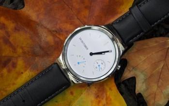 Обзор Huawei Watch: премиум умные часы на Android Wear