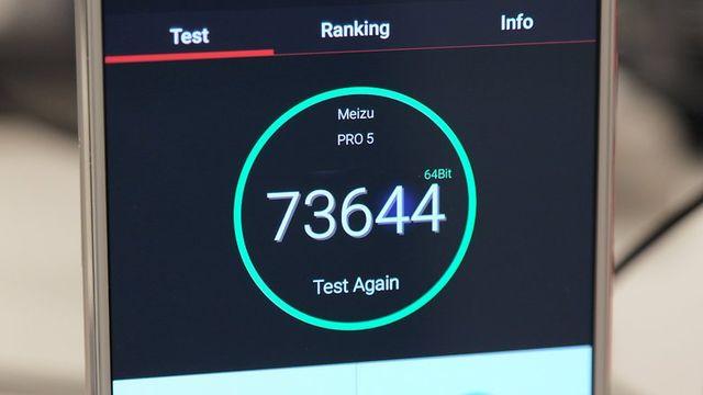 Meizu Pro 5 – самый быстрый Android смартфон в мире